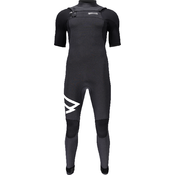 Brunotti Bravery 3/2 Short arm Front Zip Våddragt Black