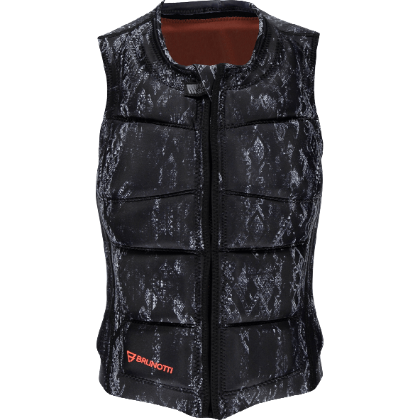 Brunotti Faded Impact Women Wake Vest Sort