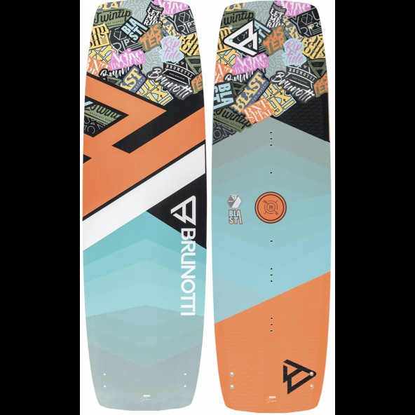 Brunotti Blast Junior Freeride Twintip Kiteboard