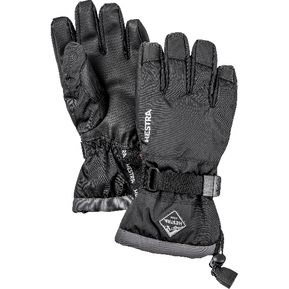 Hestra Gauntlet CZone Handsker Junior - Sort
