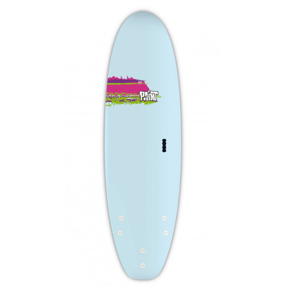 BIC Paint Shortboard 6'0 Softboard Surfboard