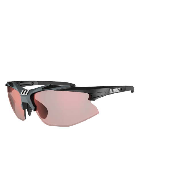 Bliz Hybrid ULS - Black - Red Photochromic
