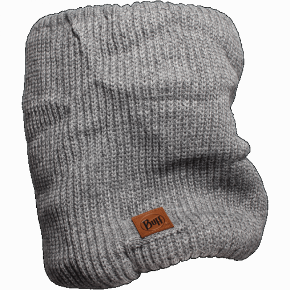 Buff Knitted Daily Neck -  Rutger Melange Grey