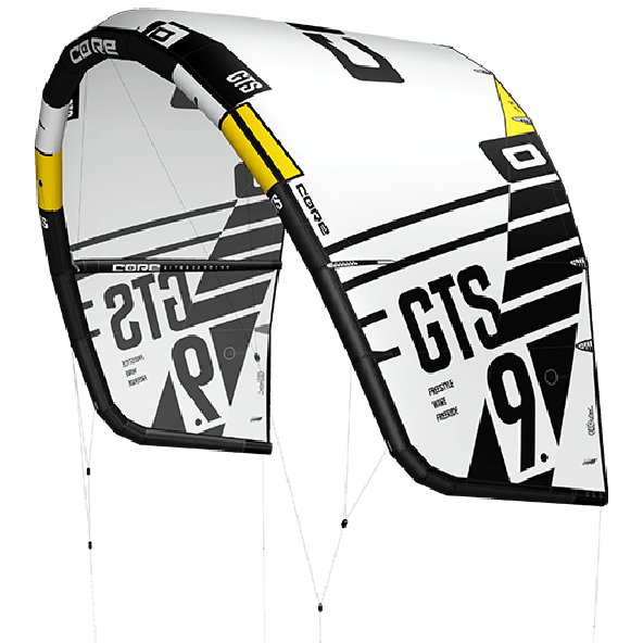 Core GTS5 Freestyle + Wave/Freeride Kite, tilvælg kiteboard