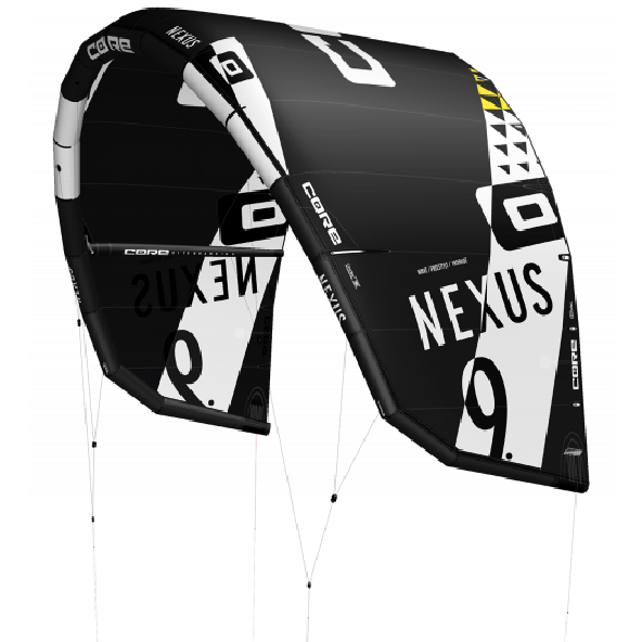 Core Nexus Lightwind Wave+/Freestyle/Freeride Kite, Tilvælg kiteboard