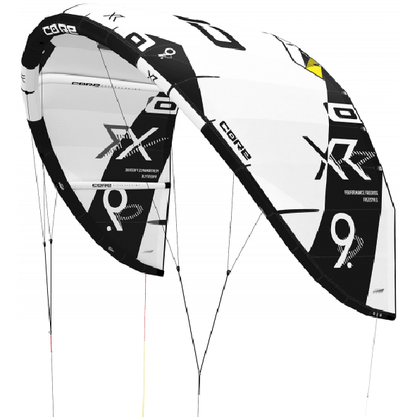 Core XR5 High Performance Freeride + Freestyle/wave Kite, tilvælg kiteboard
