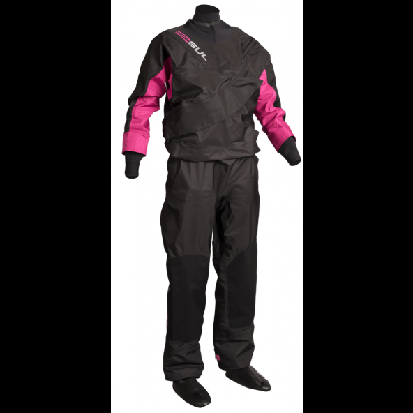 GUL Dartmouth BR Eclip Zip dame Tørdragt Black/Pink