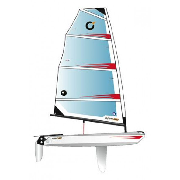 OPEN BIC Dinghy Jolle, hull only