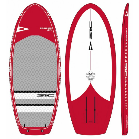 SIC Poacher 4'6 x 21.0 (SL) Surf Foiling Board