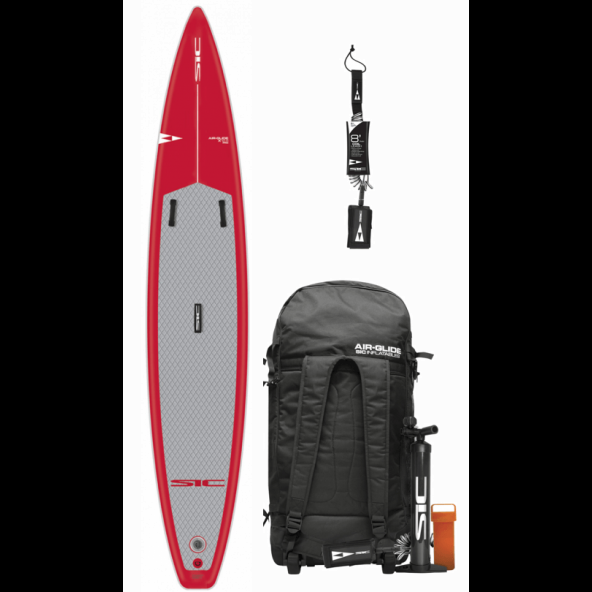 SIC Air Glide X Pro Touring 12.6 x 26 (Fusion) Race oppustelig sup