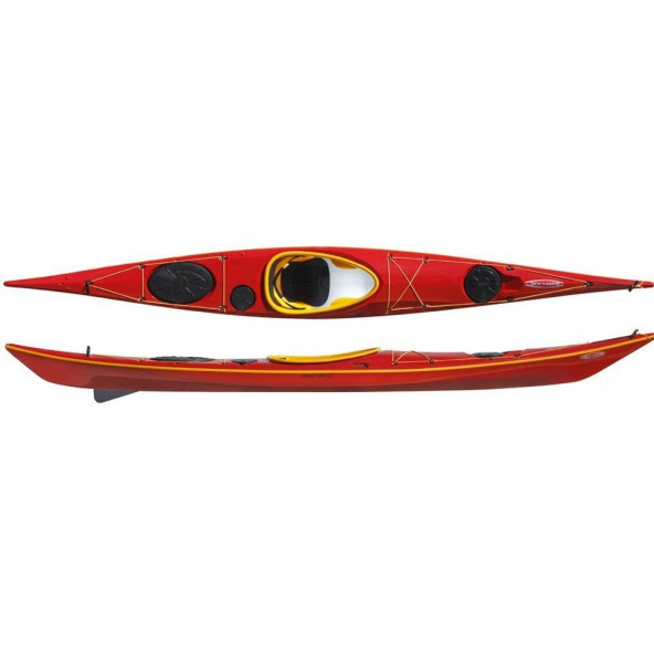 Tahe Marine Reval Mini LC Sea kayak with fin