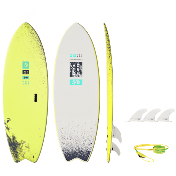Aztron Volans 5'8 Allround Fish Softdeck Surfboard